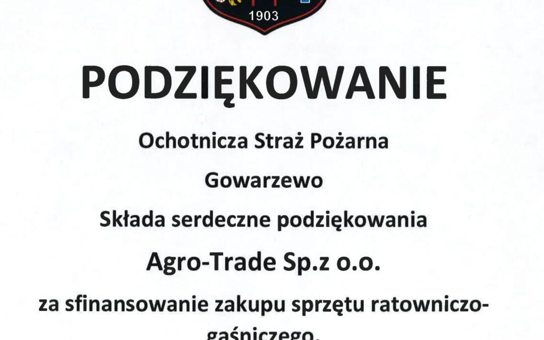 Wsparcie OSP Gowarzewo